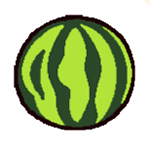 07-04-watermelon-ball-neko-atsume